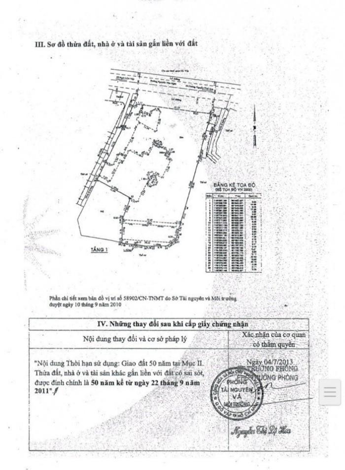 Bán đất lớn tại 37 Nguyễn Văn Nghi,p7,quận Gò Vấp