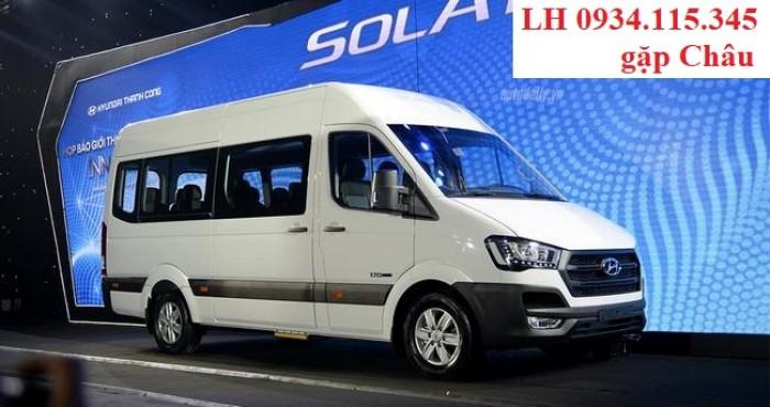 Chuyên cung cấp xe du lịch 16 chổ- HYUNDAI Solati- Nhập Khẩu- Trả góp 80%+ giá tốt Kiên Giang+SOLATI 16 Chổ 4