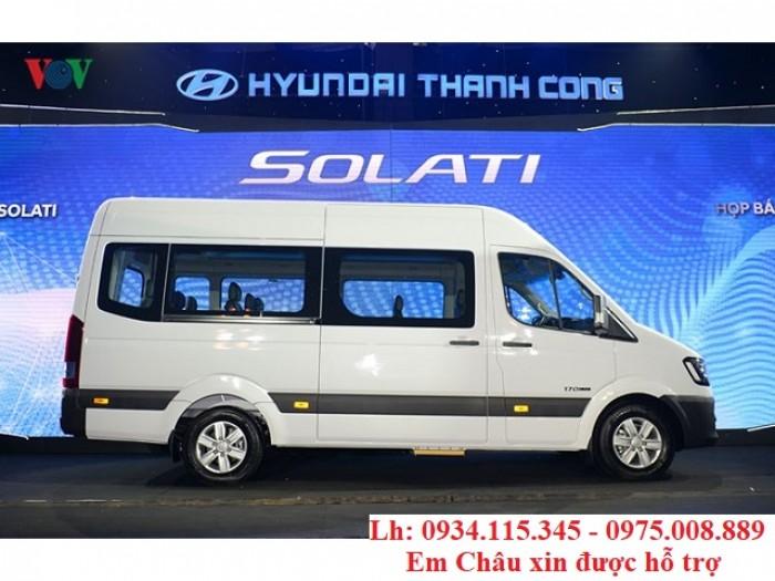 Chuyên cung cấp xe du lịch 16 chổ- HYUNDAI Solati- Nhập Khẩu- Trả góp 80%+ giá tốt Kiên Giang+SOLATI 16 Chổ 2