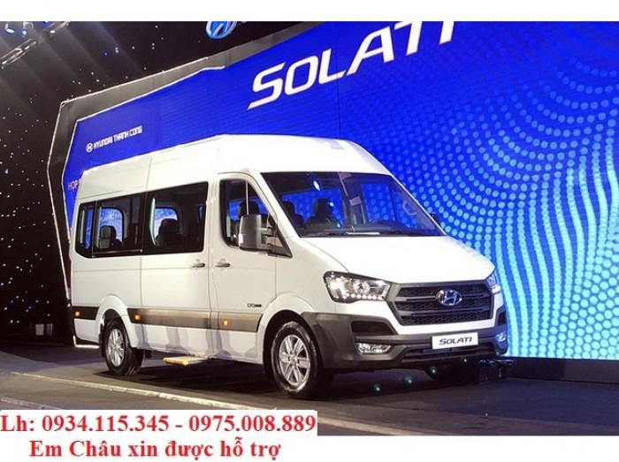 Chuyên cung cấp xe du lịch 16 chổ- HYUNDAI Solati- Nhập Khẩu- Trả góp 80%+ giá tốt Kiên Giang+SOLATI 16 Chổ 1