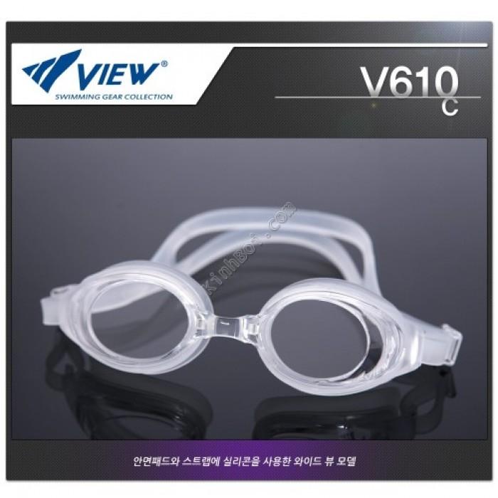 Kính bơi Nhật Tabata V610 Trắng0