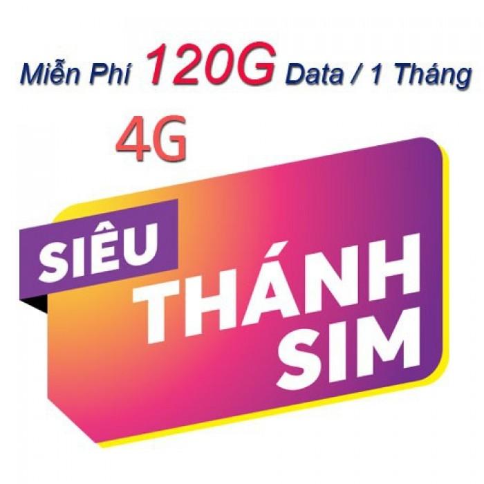 Siêu Thánh Sim - 4G Miễn Phí Data Và Gọi4