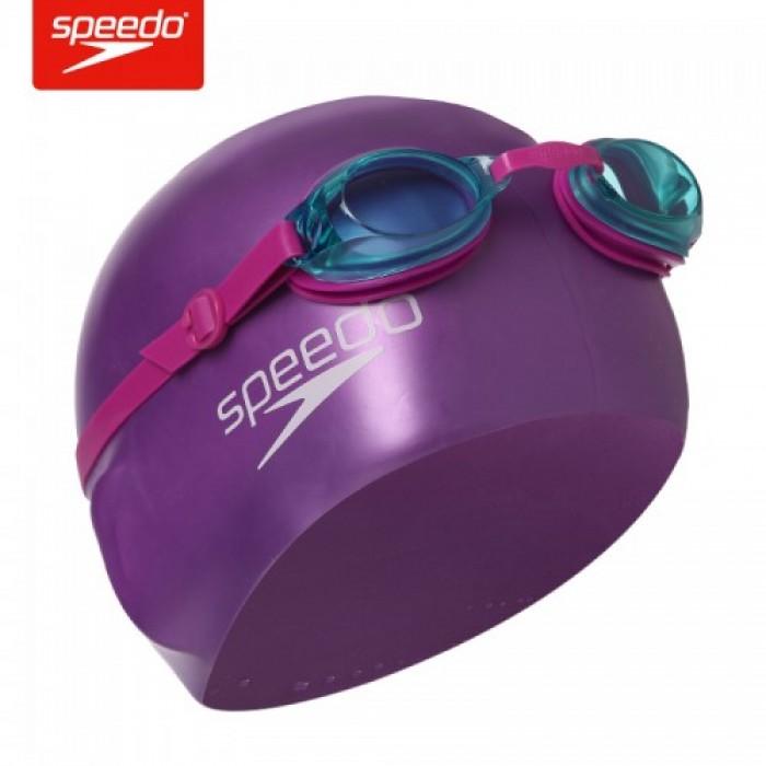 Bộ kính mũ trẻ em Speedo Jet (6-14 tuổi) - Tím0
