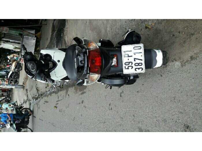 Honda 150 up fun sh shi màu trắng áo zin 2
