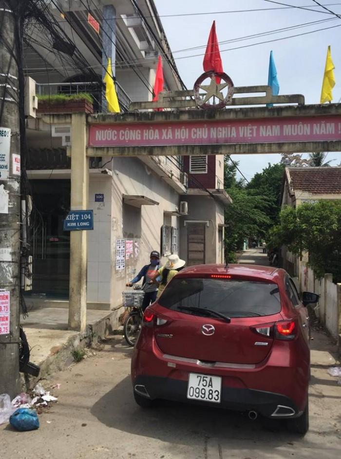 Bán Đất Kiệt 104 Kim Long - Tp Huế