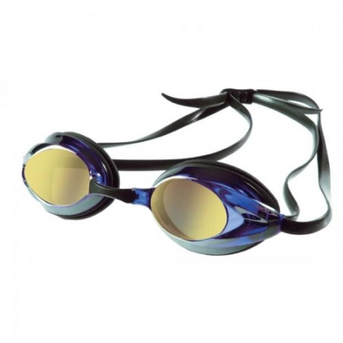 Kính bơi Speedo Vanquisher Plus Mirror Xanh Tráng Gương Vàng0