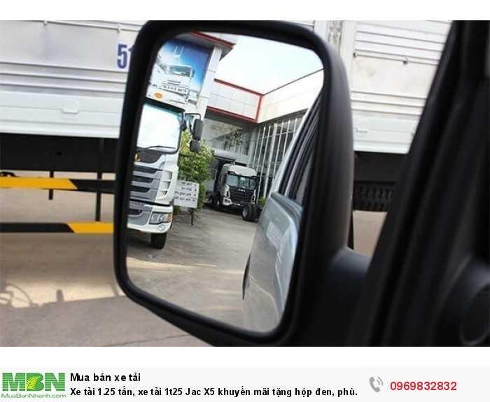 Xe tải 1.25 tấn, xe tải 1t25 Jac X5 khuyến mãi tặng hộp đen, phù hiệu vận tải, hỗ trợ vay lãi suất thấp