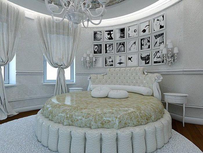 giường ngủ màu trắng5