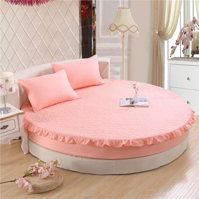 giường tròn màu hồng4