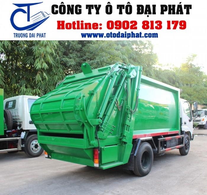 Xe ép rác 6 khối - xe ép rác hino 6 khối EURO 4 XZU342L-HKMRKD3 130MD
