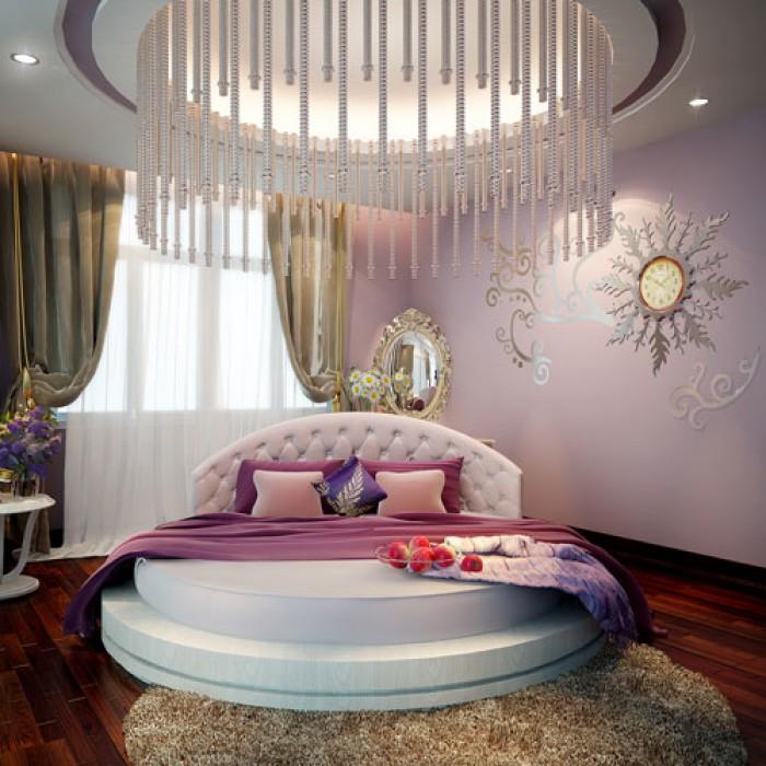giường tròn gỗ q1 q2 q7 q91