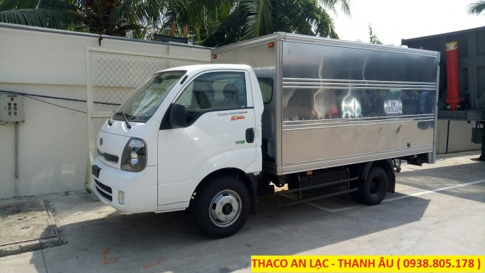 Xe tải KIA K250 2,49 tấn, bán trả góp toàn quốc. 2