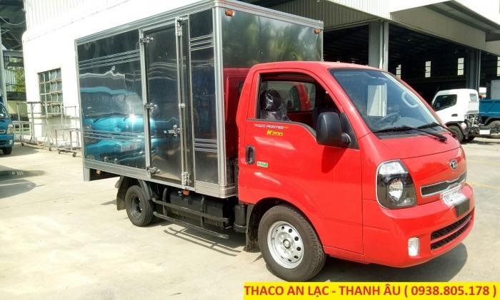 Bán xe tải K200 máy dầu đời 2018, bảo hành 3 năm hoặc 100.000 Km.