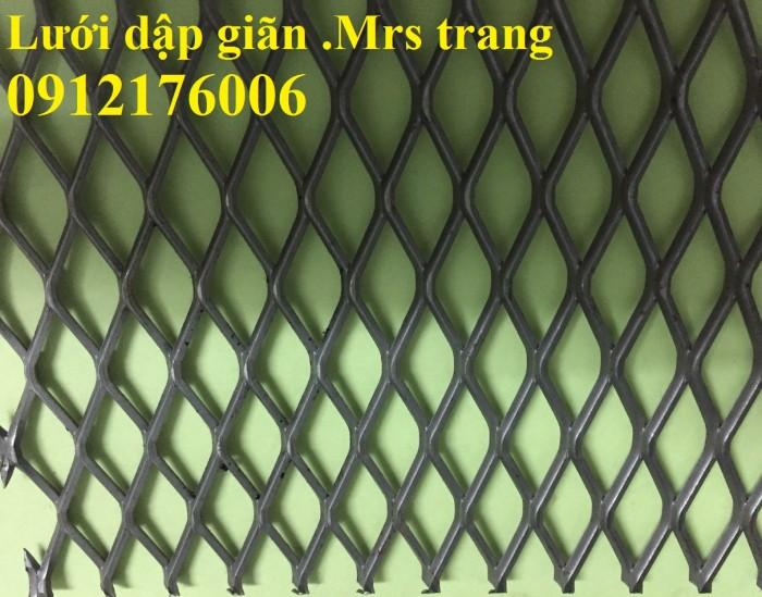 Lưới dập giãn, lưới trám dây 1.5 ly, 2ly3