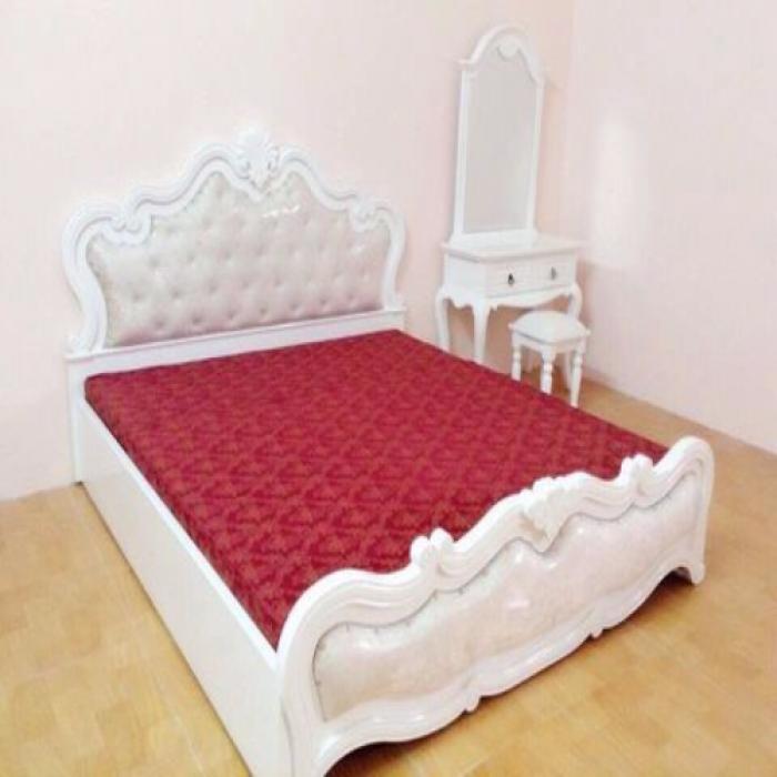 Giường ngủ gỗ MDF kích thước1m6x2m Đồ gỗ Đỗ Mạnh Bảo Hành 3 năm Hàng làm tại xưởng không qua trung gian nên giá tận gốc.0