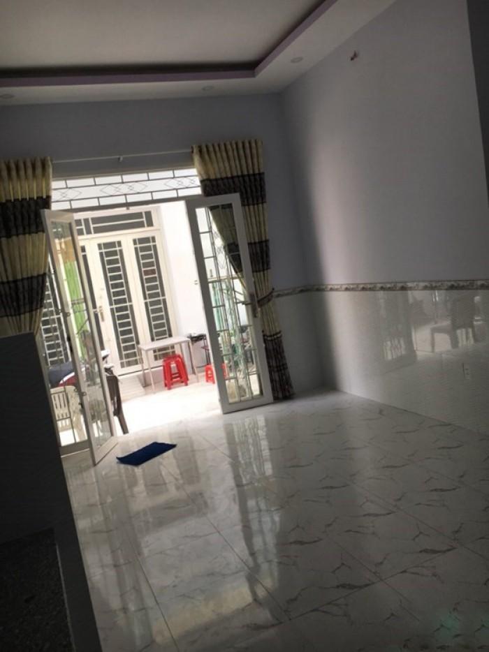 Nhà ĐSH Huỳnh Tấn Phát, Nhà Bè, trệt 2 lầu, DT 28m2, hẻm rộng 6m