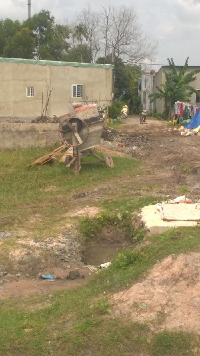 Cần vốn làm ăn, bán đất mặt tiền chính chủ, đất sạch,khu dân cư hiện hữu, liên ấp 123, Vĩnh Lộc A.