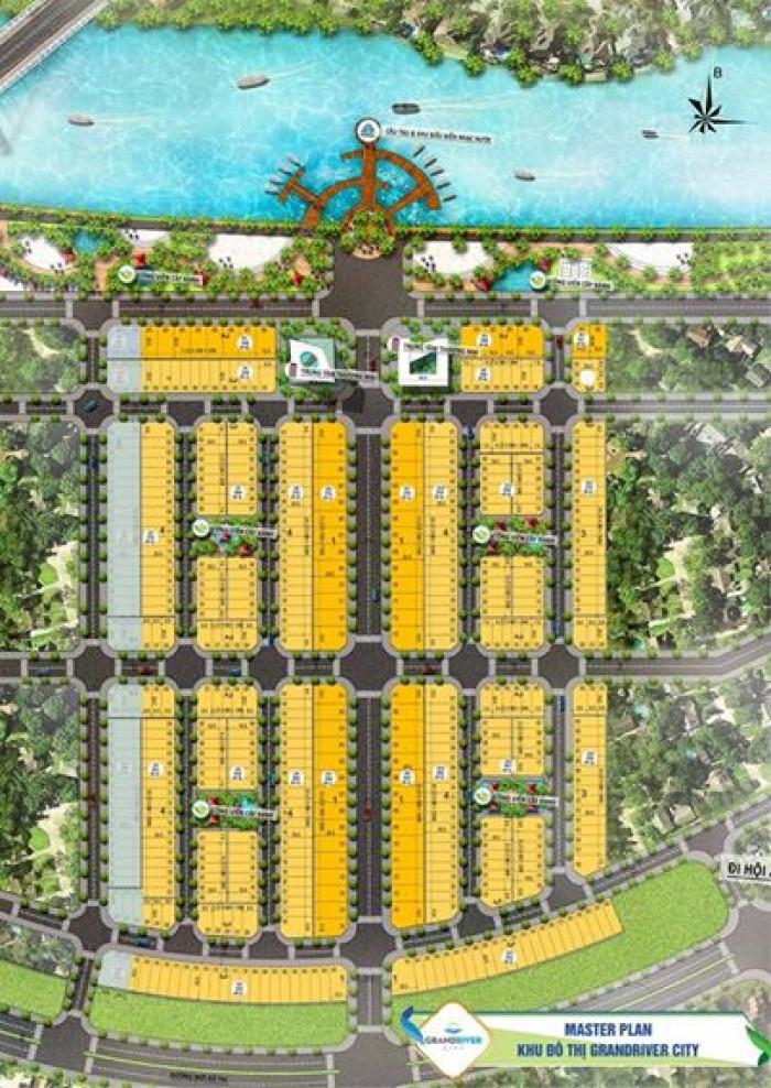 Khu Đô Thị Grand River City Mở Block Biệt Thự Đường 27M Sát Sông