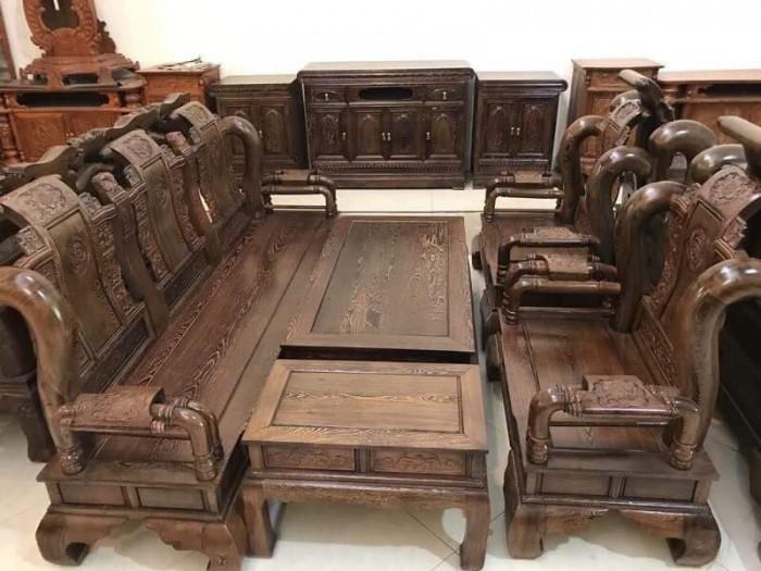 Giường ngủ gỗ 1,8x2m giát phản giường đôi Đồ Gỗ Mạnh Tráng  bảo hành trọn đời6
