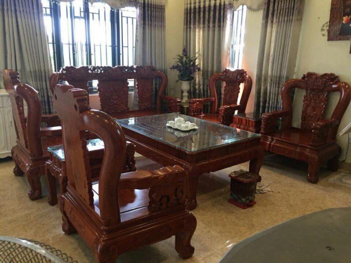 Giường ngủ đôi gỗ xoan đào 1m80x2m  Đồ Gỗ Mạnh Tráng khuyến mãi giảm giá tất lên đến 3% tổng hóa đơn giá trị sản phẩm !16