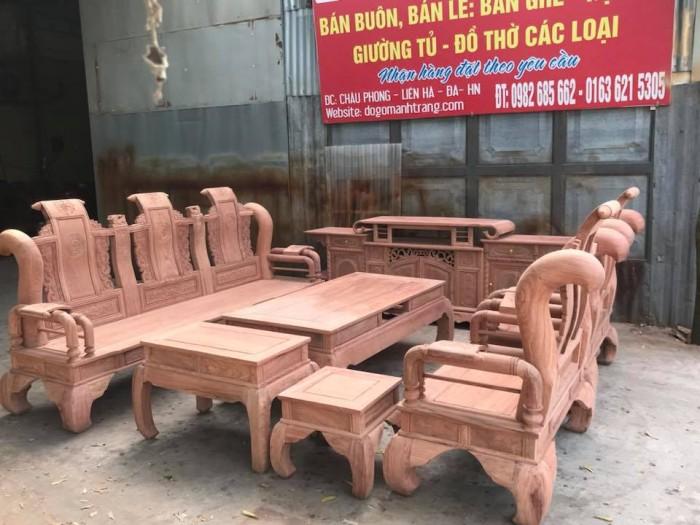 Giường ngủ đôi gỗ xoan đào 1m80x2m  Đồ Gỗ Mạnh Tráng khuyến mãi giảm giá tất lên đến 3% tổng hóa đơn giá trị sản phẩm !15
