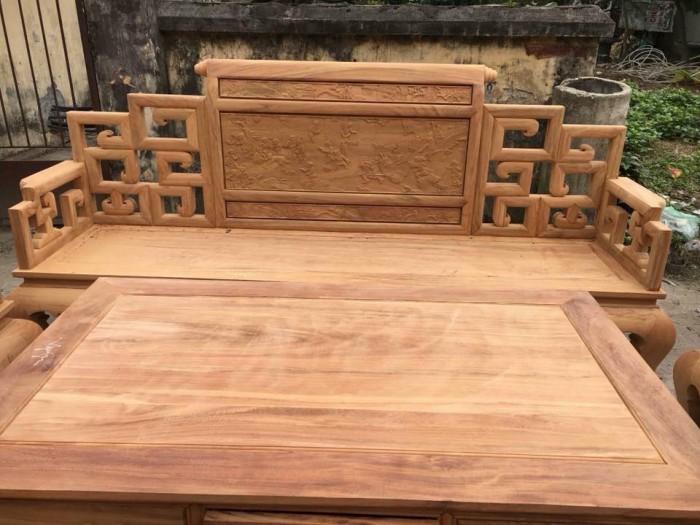 giường ngủ gỗ xoan đào 1M60X2M Hàng bền,đẹp phun PU tỷ mỉ - độ bền trên 50 năm hỗ trợ 3% tổng hóa đơn5