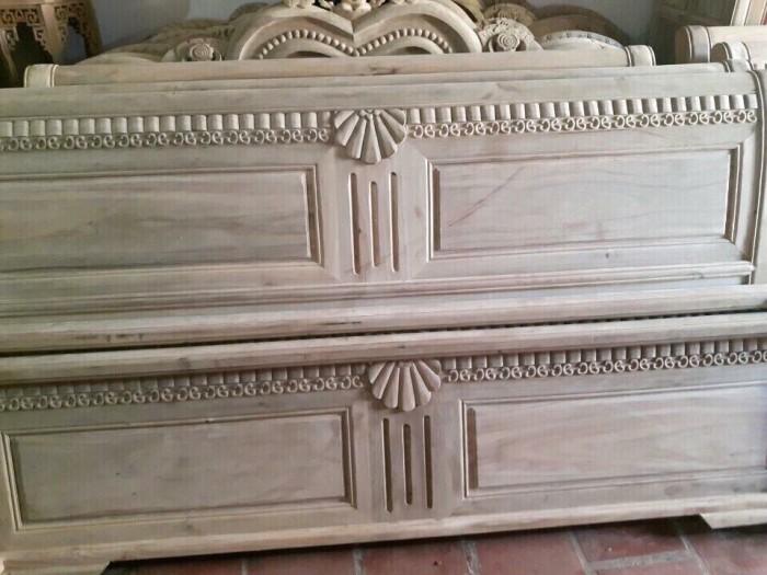 giường ngủ gỗ xoan đào 1M60X2M Hàng bền,đẹp phun PU tỷ mỉ - độ bền trên 50 năm hỗ trợ 3% tổng hóa đơn8