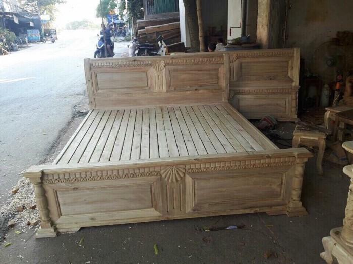 giường ngủ gỗ xoan đào 1M60X2M Hàng bền,đẹp phun PU tỷ mỉ - độ bền trên 50 năm hỗ trợ 3% tổng hóa đơn3