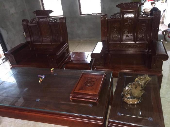 giường ngủ gỗ sồi nga 1m20  Đồ Gỗ Mạnh Tráng giao hàng toàn quốc9
