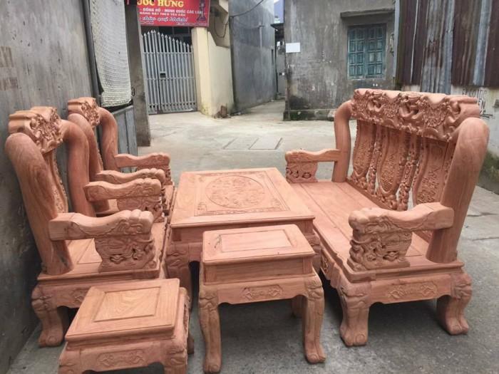giường ngủ gỗ sồi nga 1m20  Đồ Gỗ Mạnh Tráng giao hàng toàn quốc3