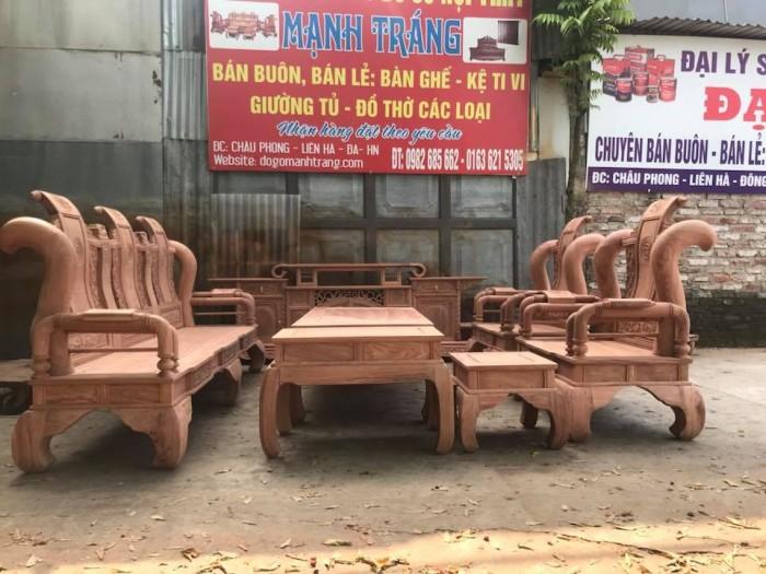 giường ngủ gỗ sồi nga 1m20  Đồ Gỗ Mạnh Tráng giao hàng toàn quốc4