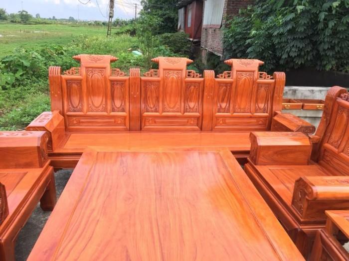 giường ngủ gỗ sồi nga 1m20  Đồ Gỗ Mạnh Tráng giao hàng toàn quốc1