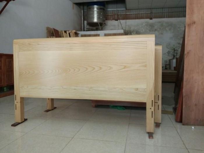 giường ngủ gỗ sồi nga 1m20  Đồ Gỗ Mạnh Tráng giao hàng toàn quốc0
