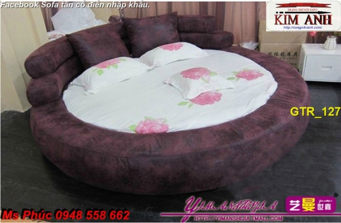 Cảnh báo! Lũ trẻ nhà bạn sẽ táy máy với chiếc giường tròn cho bé vô cùng xinh đẹp, chất ngất thế này đó!