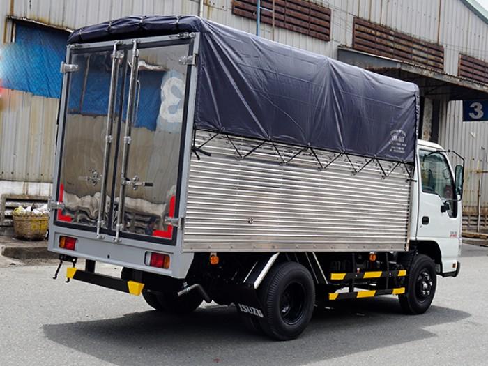 Khuyến mãi bán xe tải ISUZU 1.4 tấn nâng tải 2.4 tấn, thùng mui bạt - Trả trước 100 triệu, giao xe ngay - Gọi 0978015468 (Mr Giang 24/24)