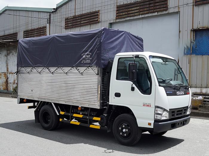 Mua xe tải ISUZU 1.4 tấn nâng tải 2.4 tấn, thùng mui bạt - Trả trước 100 triệu, giao xe ngay - Gọi 0978015468 (Mr Giang 24/24)