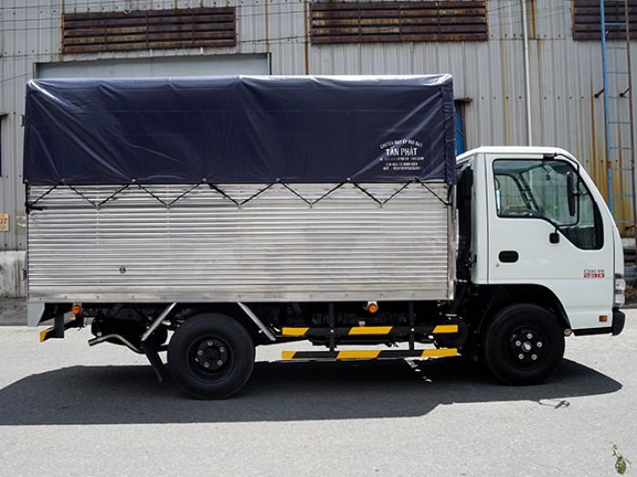 Xe tải ISUZU 1.4 tấn nâng tải 2.4 tấn, thùng mui bạt - Trả trước 100 triệu, giao xe ngay