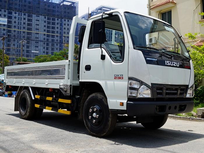 Xe tải ISUZU 1T4 tấn nâng tải 2T4 tấn, thùng kín lửng- Trả trước 100 triệu, giao xe ngay - GỌI 0978015468 (Mr Giang 24/24)