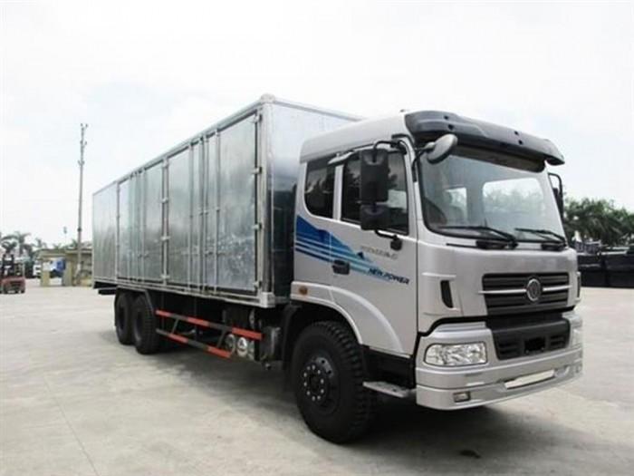 Bán xe tải DongFeng Trường Giang 3 chân 14.4 tấn/15 tấn năm 2017+Trả Góp 80%+ Kiên giang Xetai