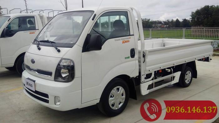 Bán xe KIA k200 tải trọng 1490kg, đời 2018, Euro4, động cơ Huynđai.