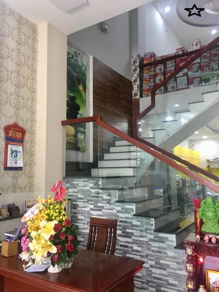 Chính chủ bán GẤP nhà Nguyễn Văn Đậu, HXH, 55m2, 4 tầng