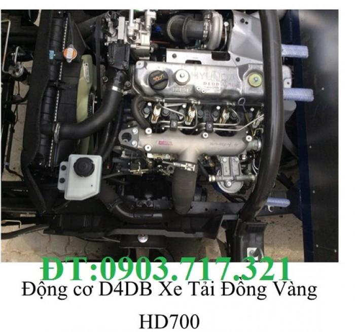 Bán xe tải Hyundai HD700 Đồng Vàng. Giá bán bán xe tải 7Tấn Hyundai HD700 Đồng Vàng