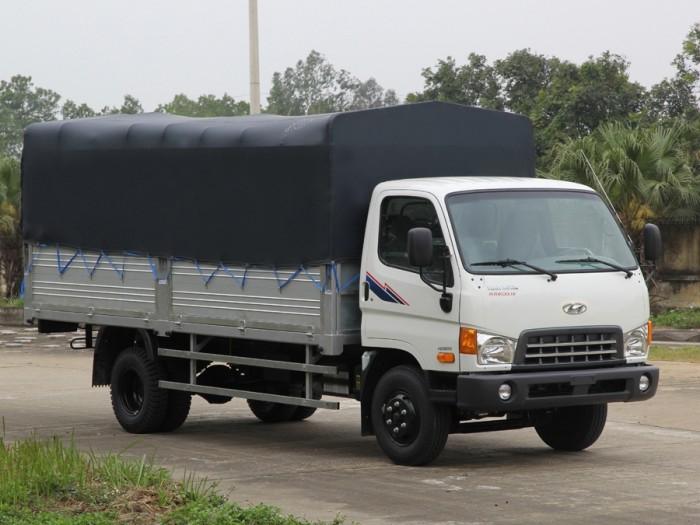 Hyundai HD800 2017 mui bạt 8 tấn 100% linh kiện Hyundai. Hỗ trợ 90%