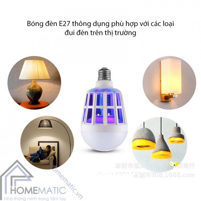 Bóng đèn bắt muỗi thông minh3
