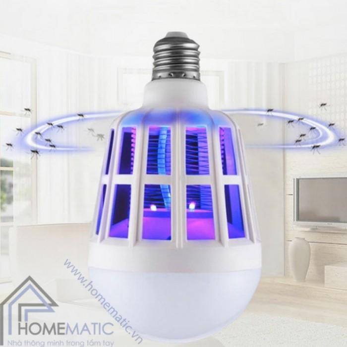 Bóng đèn bắt muỗi thông minh2