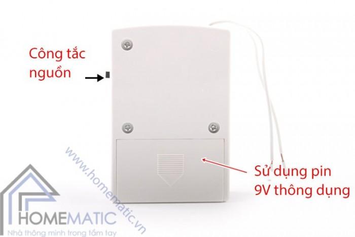Báo động mất điện dùng pin sạc IA-021