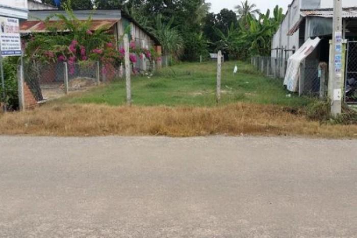 bán lô đất mặt tiền đường khu vực Quốc Lộ 50 Bình Chánh