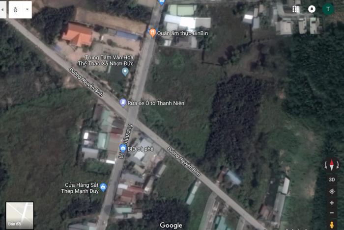 Bán đất Nhà Bè 550m2 đất mặt tiền đường Lê Văn Lương