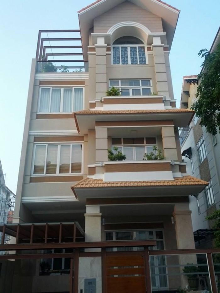 Bán nhà mặt tiền đường Võ Văn Tần, Phường 5, Quận 3, DT: 4x15m, trệt 3 lầu, cho thuê 60tr/tháng, 25 tỷ(TL)