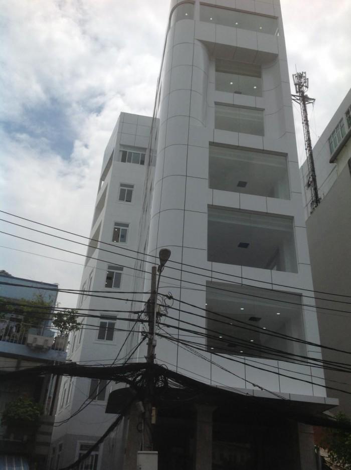 Bán nhà MT Võ Thị Sáu, P. 6, Q.3. DT: 6x20m, xây trệt, hầm, 4 lầu thang máy
